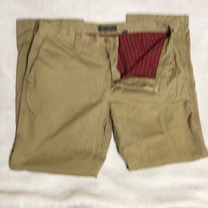 Eddie Bauer flannel lined pants 36x32